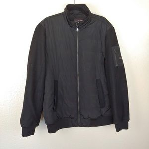 Michael Kors Black Quilted Jacket Size XL